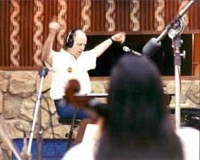 Bob Singleton conducts at Sumet Bernet Studios